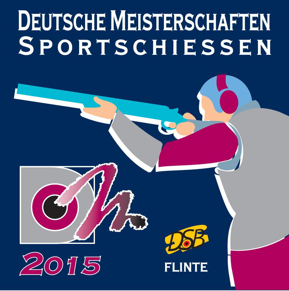 2015 DM Aufkleber Flinte