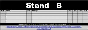 LIVE: 1. DSB-Rangliste in Suhl