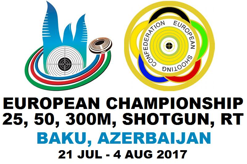 Ergebnisse: Europameisterschaft 2017 in Baku