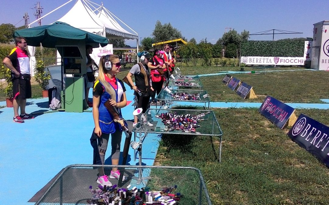 Erste Meldung vom ISSF Juniorenweltcup aus Porpetto