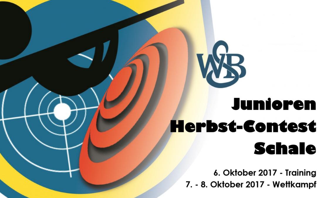 Einladung: Junioren-Herbst-Contest SSC Schale