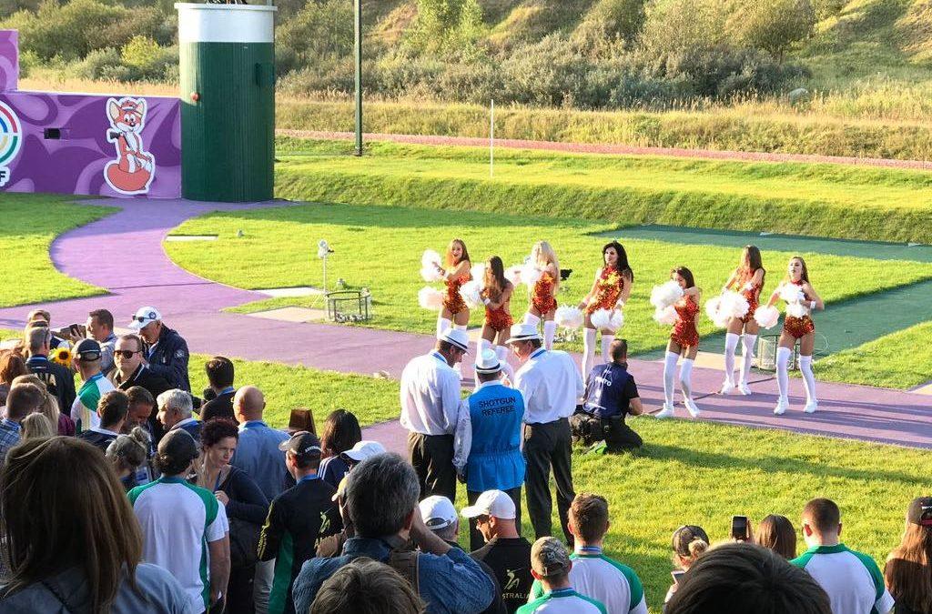 Trap Juniorinnen und Frauen ohne Finalteilnahme bei der WM