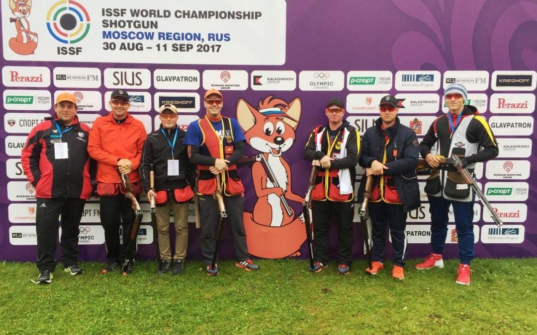 WM Moskau: Anreise und Training der Skeeter