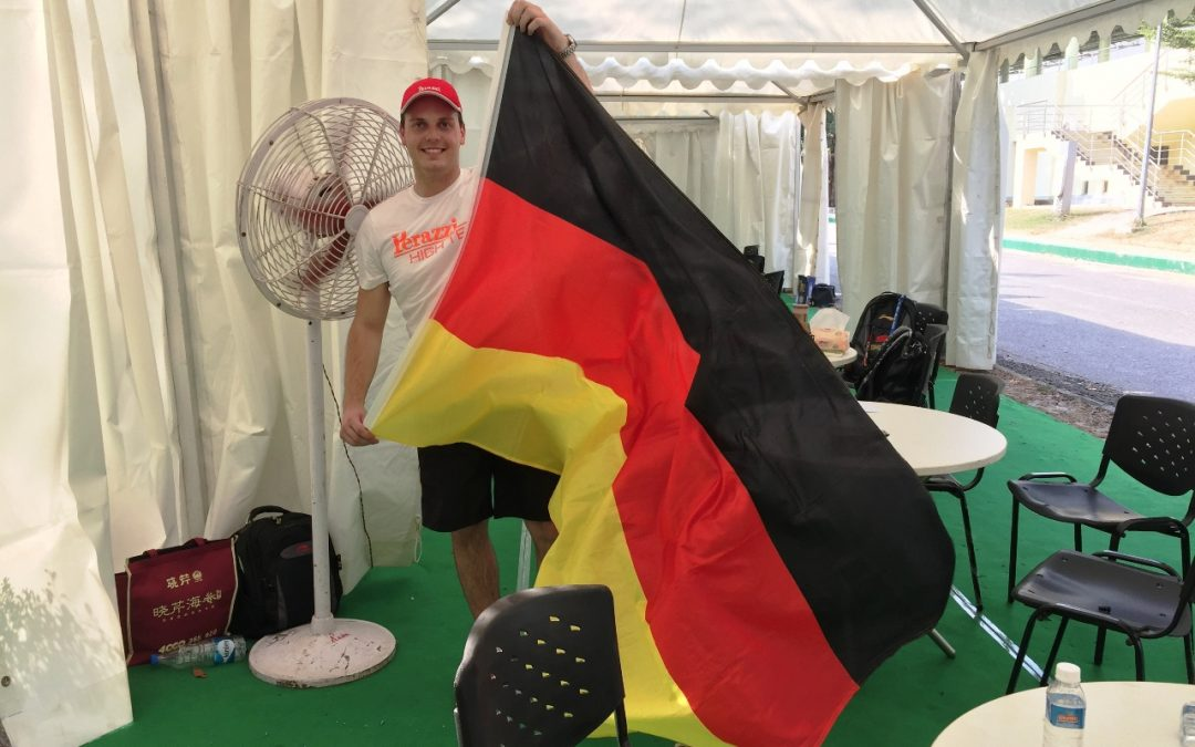 Wieslhuber und Haaga beim Weltcupfinale in Indien