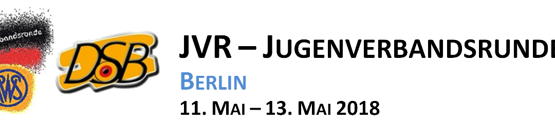 Info: 1. RWS-Jugendverbandsrunde 2018 in Berlin