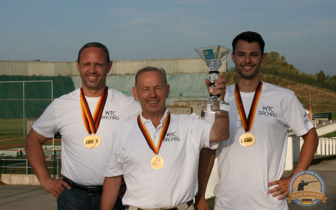 Doppeltrap-Team GOLD für Familie Hartmann