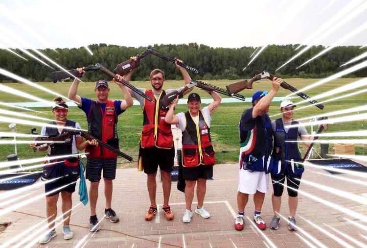 Erster Trap-Mixed-Team Erfolg mit Gold belohnt