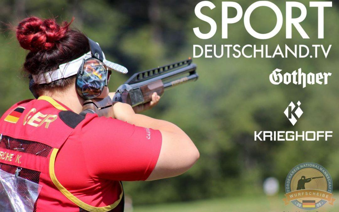 Flintenfinale DM2019 live bei Sportdeutschland TV!
