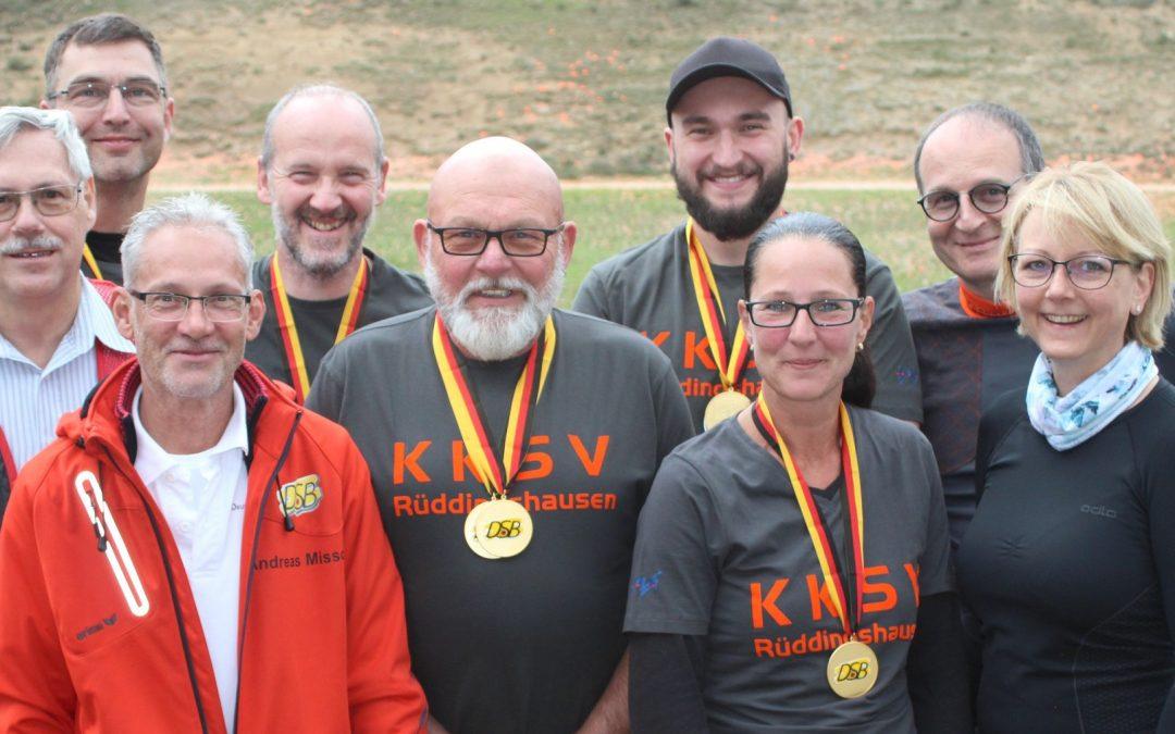 DM Universaltrap – KKSV Rüddingshausen gewinnt vier Titel