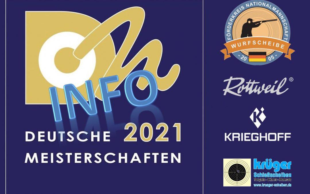 Info: Deutsche Meisterschaft 2021