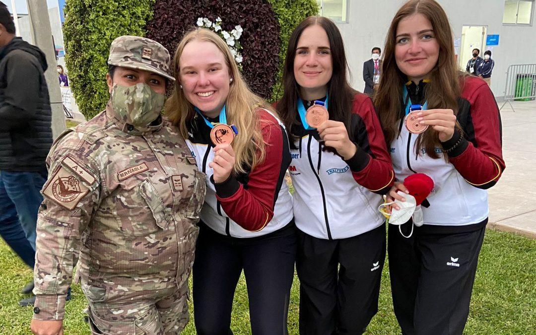 JWCH Lima – Bronze für Annabella, Isabel und Emilie…