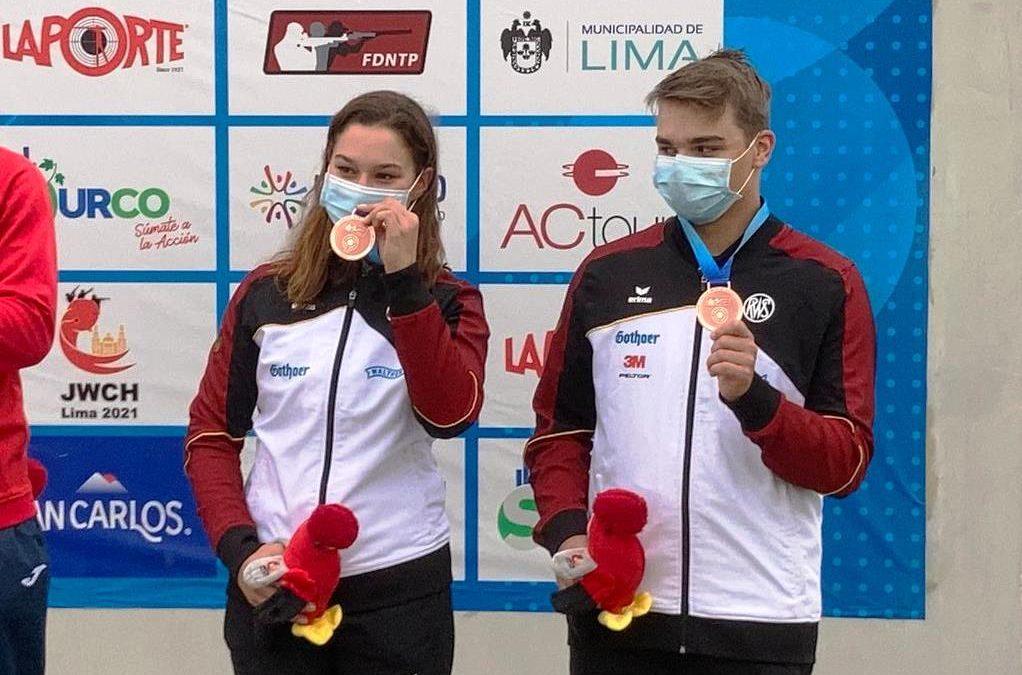 JWCH Lima – Bronze im Trap Mixed Team Wettkampf